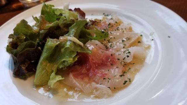鯛のカルパッチョの簡単レシピ